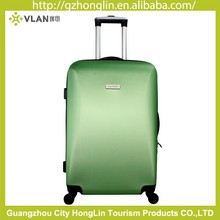 ABS harside luggage aluminum trolley case set outer material ABS for promotion gift