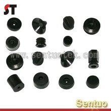 Custom high quality all kinds of Rubber foot rubber feet with screw
