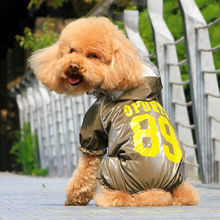 Fationabe waterproof dog coat