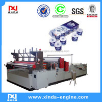 Toilet tissue paper manufacturing machine making equipment SPB