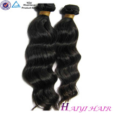 Tangle Free Factory Wholesale Natural Style Bresilienne Human Hair Weaving