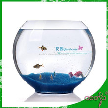 square glass outdoor fish bowl stands
