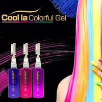 One-time hair dye hair color pen/dye hair stick / 6 color gradient color/coloring crayons