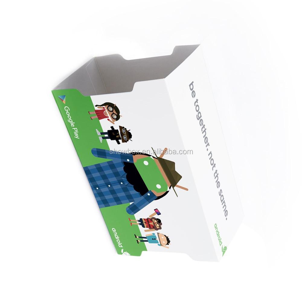 Christmas gift custom logo google cardboard VR 3D virtual reality headset (6).jpg