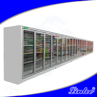 machine manufacturer supermarket beverage Anti-fog glass door commercial refrigerator LTBLD210