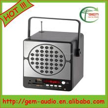 New !!! 3W Mini speaker Coolest portable speaker Gem-129