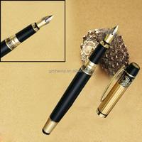 High Quality Hero 901 Iraurita 0.5mm Meduim M Nib Black Gold Point Fountain Pen For Gift Study Writing Office Decoration