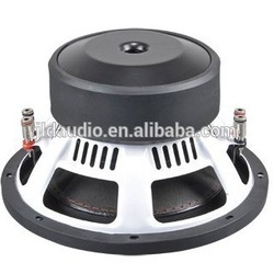 10'' high quality best car powered subwoofer