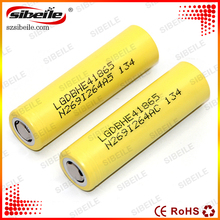 newest LG 18650 2500mah lghe4 alkaline battery