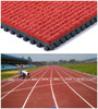 Huadongtrack, IAAF Approved Prefabricated Rubber Running Track Surface For 400 Meter Standard Field