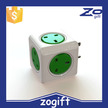 ZOGIFT Cube Extension Socket with 5 Outlets,Wireless Electric Outlet Adapter