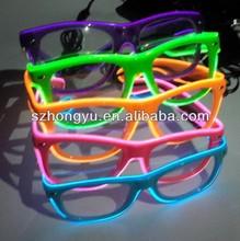 2014 crazy pub LED flashing diffraction party glasses fireworks glasses