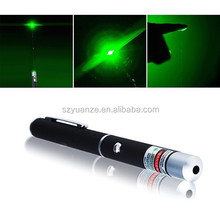 Utility Green Laser Pointer Copper Pen Beam Light 5mW Lazer High Power 532nm