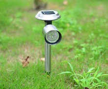 Factory Direct Supply Cheap Price Abs Plastic Outdoor Led Solar Powered, Fence Post Lights For Home,Solar Garden Decoration Lamp
