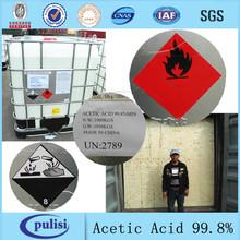 el ácido acético