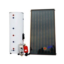 100L flat panel solar water heater