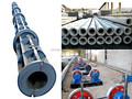 de distribución de energía poste eléctrico de hormigón de la máquina línea de producción
