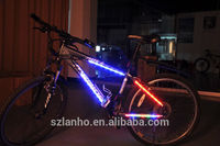 MTB Cycling Bicycle Bike Decorative 14 LED Light Article Spoke Safety Light Red