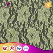 Soft Lace Embroidery Fabric Design With Handwork