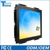 12 Inch LCD Monitor Wall Mount Advertising Player Open Frame USB