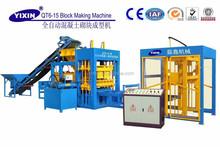 QT8-15 Automatic Hollow Blocks Machine Making Concrete Blocks