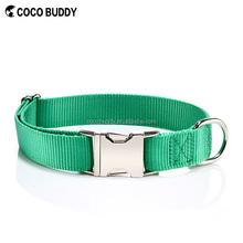 Wholesale price Personalized Nylon Webbing pet dog collar , OEM
