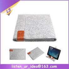 Professional OEM wool felt case for ipad