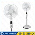 Venta caliente 16inch AC DC ventilador de energía solar o de funcionan baterías, Dc 12v motor del ventilador de refrigeración