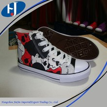 buy wholesale direct from china printed canvas shoes
