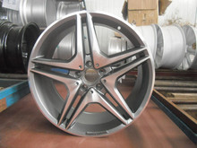 17x7.5jj light chrome car alloy wheel rims ET 40 H/PCD 4X100/114.3