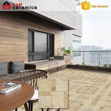 Hot sale grade AAA garden tile 30x30 cm with 12 slat