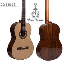handmade solid wood concert classical guitars CG54S-39