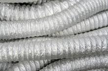 Flexible Duct, Aluminum, Acordion, Rigid, Pre Insulated, aluminum insede bare, air duct