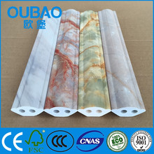 2015 new product artificial stone plastic composite interior wall decoration vinyl skirting