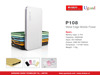 Factorty new slim power bank built-in usb16gb,5200mah portable power bank charger thin,warrantied laptop battery