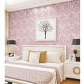 Damasco insonorizadas con textura decorativa profundo relieve wallpaper / pared de papel ( 0.53 * 10 m )