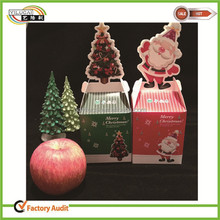 hotsale cup cake packaging box for Christmas