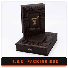 DIY jewerlry products originality large wooden tea chest gift box