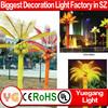 LED fake palm tree light indoor decoration led tree lighting