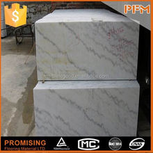 Club floor and wall decoration yellow beige crema marfil marble column