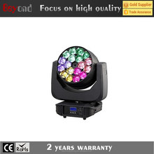 Disco Moving Head Wash LED RGBW Beam with Zoom Effect