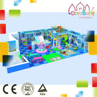 2015 High quality children playground indoor amusement theme play park