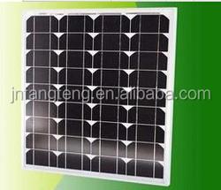 Full CE/IEC/TUV/UL Certificate ,40W Monocrystalline Solar Panel