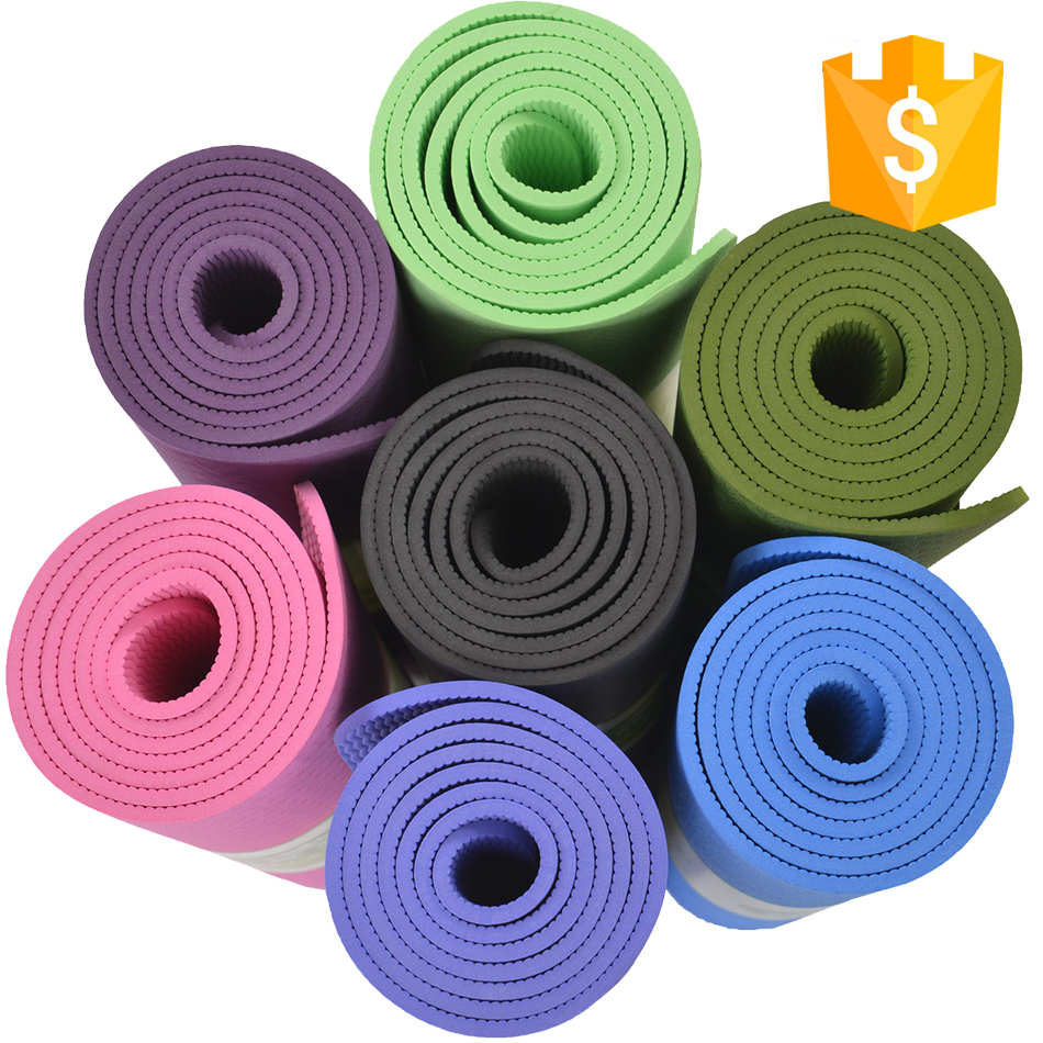 Yoga & Pilate Tpe Yoga Mat,Mat Type Quality Tpe Yoga Mat