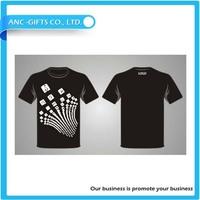 Custom full print t shirt blank ruffle sleeve t shirt puff sleeve t shirt