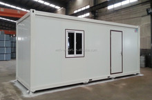 Low cost living 20ft container house portable container house prefab shipping container house for sale