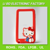 China factory custom 3d silicone cell phone case Note 3 5.7inch