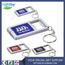 High Quality Bottle Opener Key Chain With LED Light
