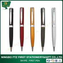 Promotional Twistable-function Square Metal Ball Pen