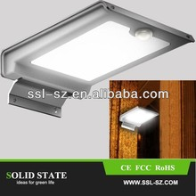 IP65 Outdoor Led Small Motion Sensor Solar Light with Low price lamps